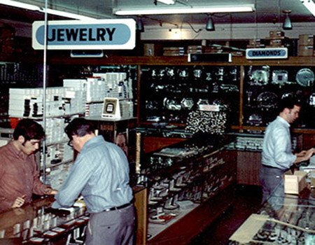 Retail Showroom in the 1970s